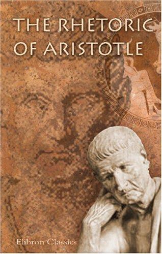 The Rhetoric of Aristotle