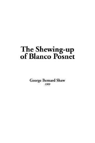 Download The Shewing-up of Blanco Posnet