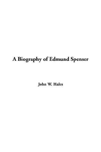 Download A Biography of Edmund Spenser
