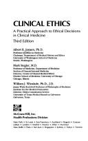 Download Clinical ethics