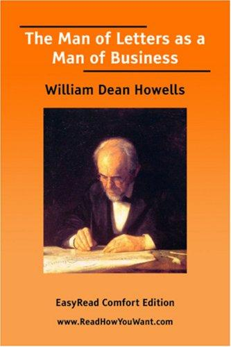 Download The Man of Letters as a Man of Business EasyRead Comfort Edition