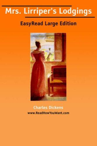Download Mrs. Lirriper's Lodgings EasyRead Large Edition