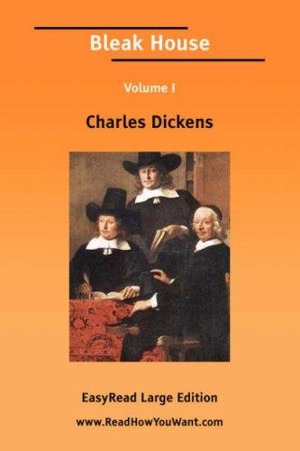 Download Bleak House Volume I EasyRead Large Edition