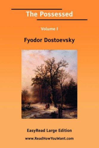 Download The Possessed Volume I EasyRead Large Edition