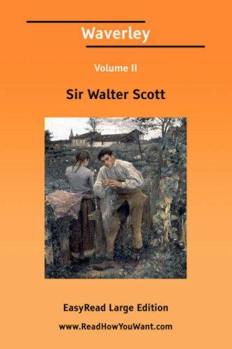 Download Waverley Volume II EasyRead Large Edition