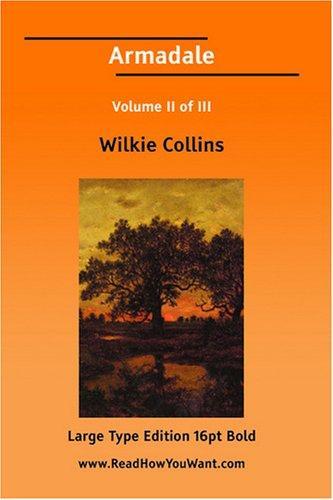 Armadale Volume II of III (Large Print)