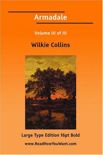 Armadale Volume III of III (Large Print)