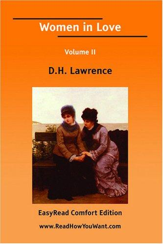 Download Women in Love Volume II EasyRead Comfort Edition