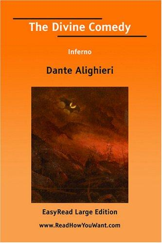 Download The Divine Comedy Inferno EasyRead Large Edition
