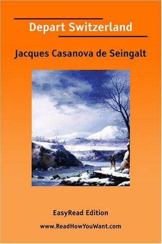 Download Depart Switzerland EasyRead Edition