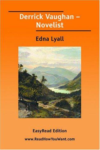Derrick Vaughan  Novelist EasyRead Edition