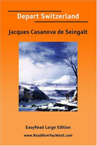Download Depart Switzerland EasyRead Large Edition