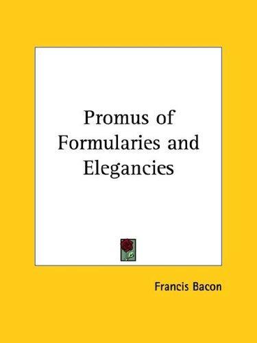 Download Promus of Formularies and Elegancies