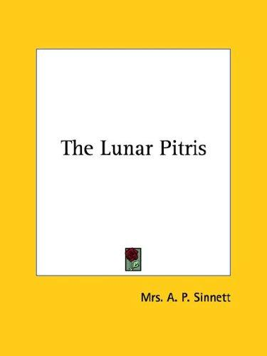 The Lunar Pitris (Open Library)