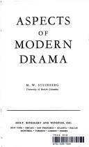 Aspects of Modern Drama
