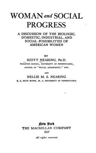 Download Woman and social progress