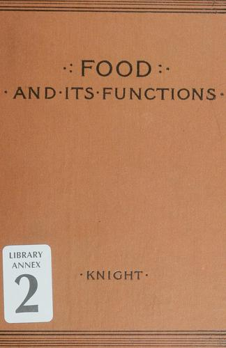 Download Food and its functions