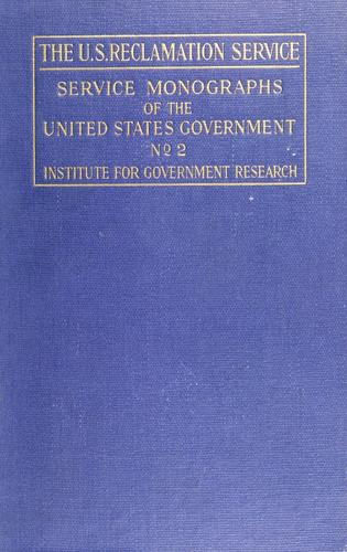 Download The U.S. Reclamation service
