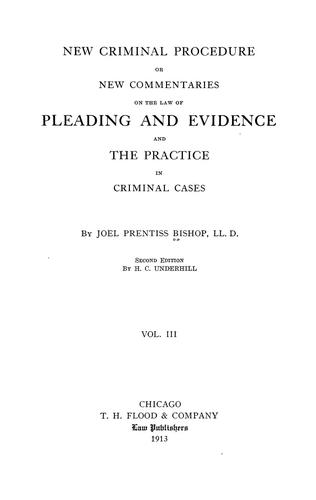 Download New criminal procedure
