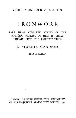 Download Ironwork …