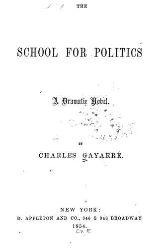 The school for politics.