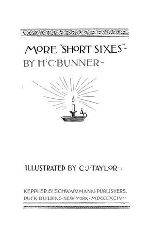 "More ""Short sixes"""