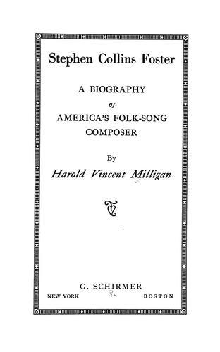 Download Stephen Collins Foster