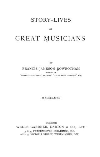 Download Story-lives of great musicians