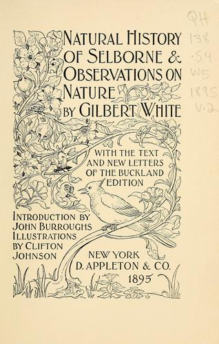 Natural history of Selborne & observations on nature