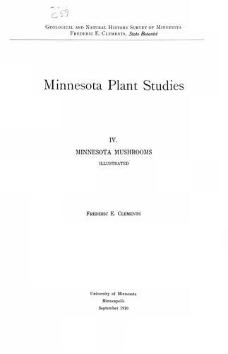 Download … Minnesota mushrooms …