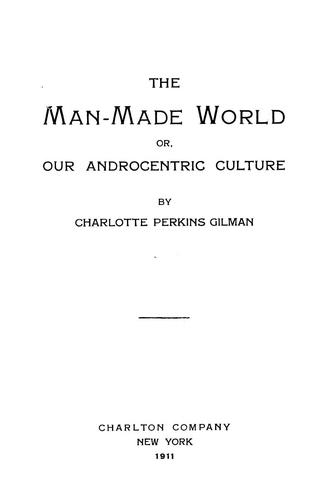 Download The man-made world