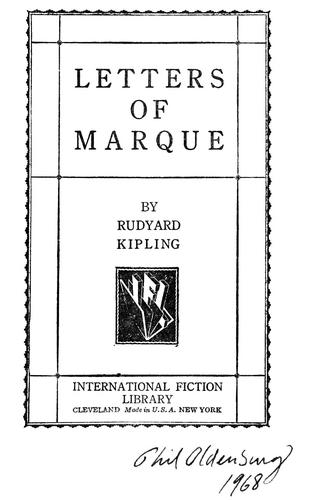 Download Letters of marque
