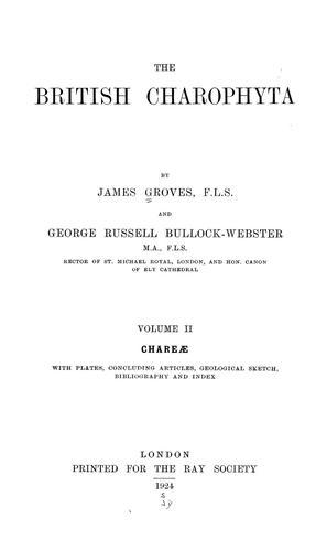 Download The British Charophyta