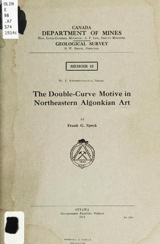 Download The double-curve motive in northeastern Algonkian art