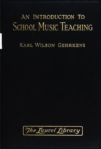 An introduction to school music teaching