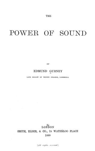Download The power of sound