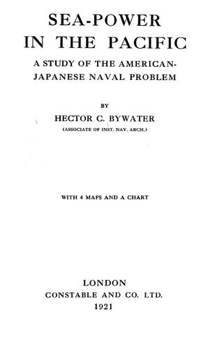 Download Sea-power in the Pacific