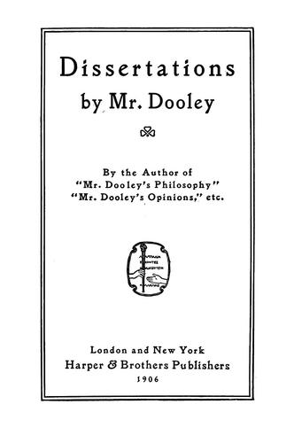 Download Dissertations by Mr. Dooley