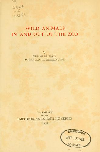 Download Wild animals in and out of the Zoo