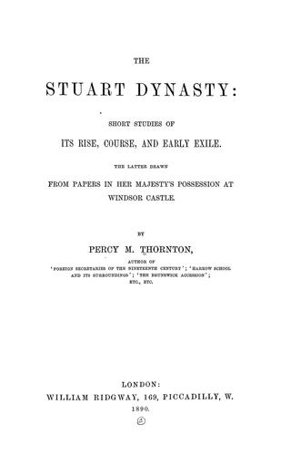 Download The Stuart dynasty