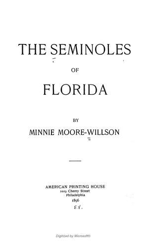 Download The Seminoles of Florida