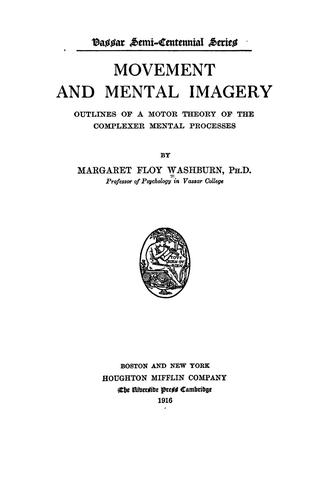 Movement and mental imagery