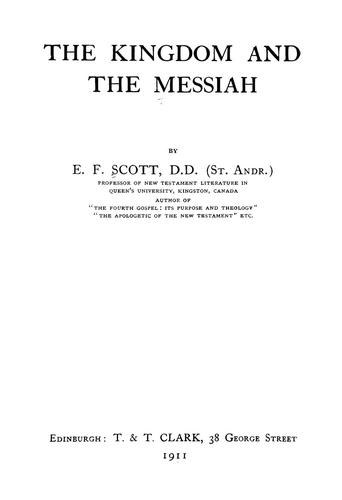 The kingdom and the Messiah