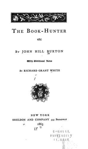 Download The book-hunter, etc.