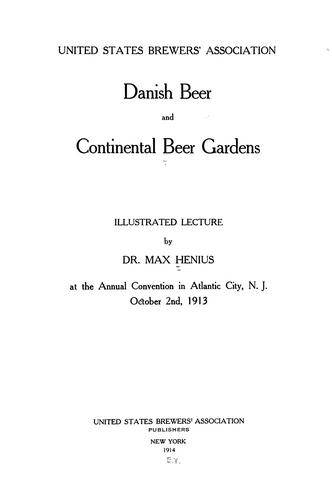 Download Danish beer & continental beer gardens