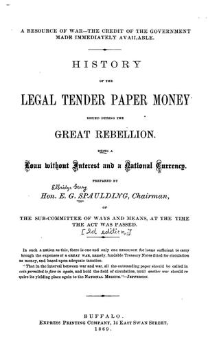 A resource of war– The credit of the government made immediately available.
