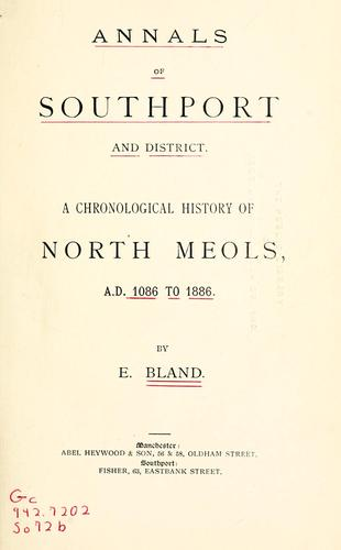 Download Annals of Southport and district.