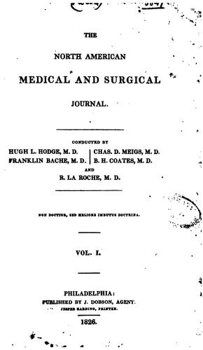 The North American Medical and Surgical Journal