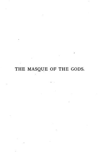 The Masque of the Gods