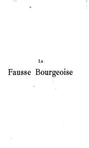La fausse bourgeoise